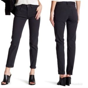 NWT • Helmut Lang • Creased Skinny Jeans Black 0